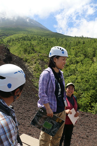 Scientists from the Mt. Fuji Research Institute