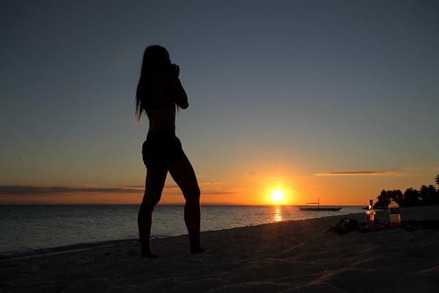 Sunset at Kalanggaman