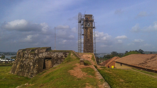 Clock Tower at Galle Fort