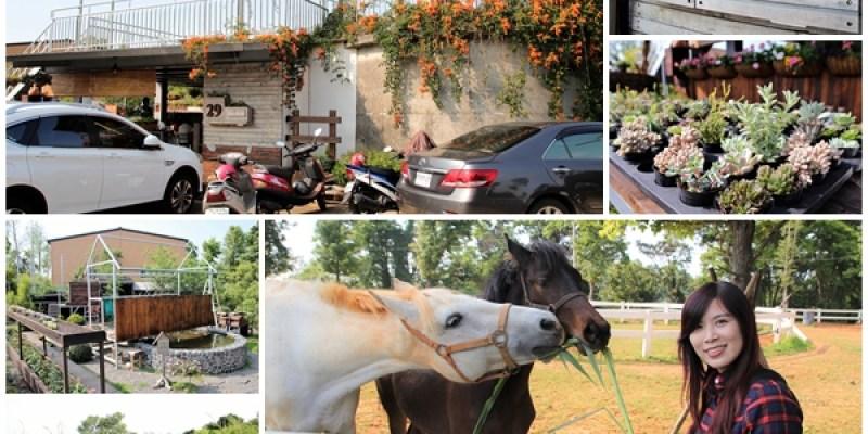 【南投市景點】29號花園咖啡~八卦山139線道景觀餐廳,牧草餵馬,假日限定,澳洲茶樹迷宮,多肉植物