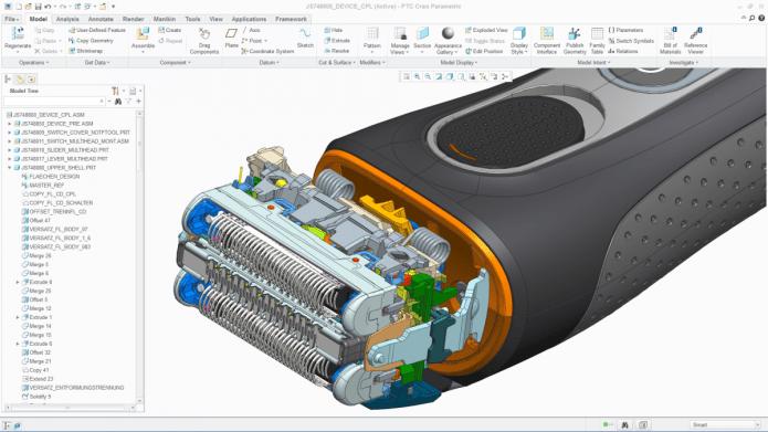 Lắp ráp cụm máy với Phần mềm Creo 3.0 M020