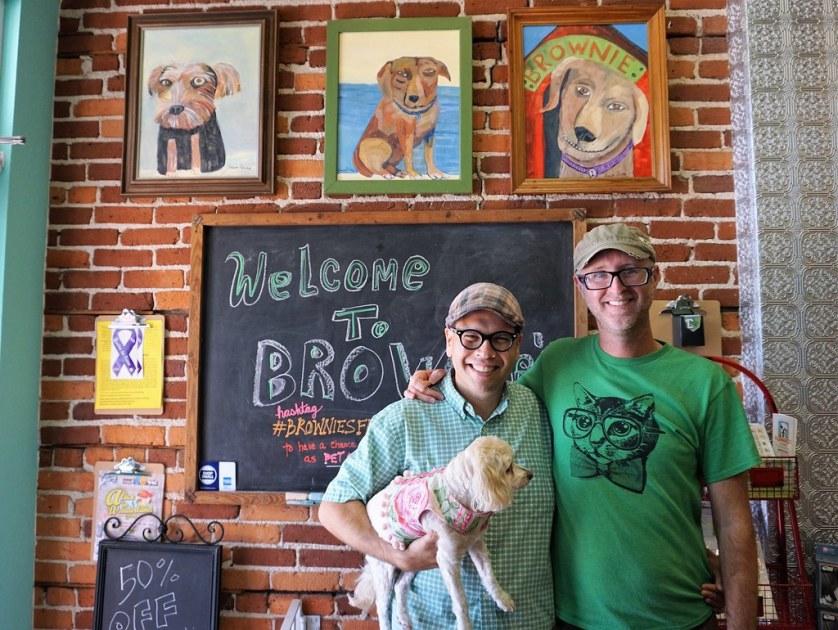 Brownie's Dog Boutique in Daytona Beach, Fla., July 15, 2017