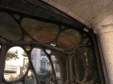 Barcelona Casa Milà  door detail