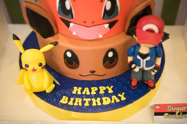 pokemon party cake