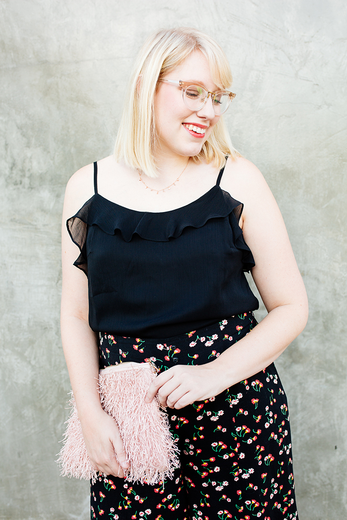 austin fashion blog writes like a girl black floral culottes17