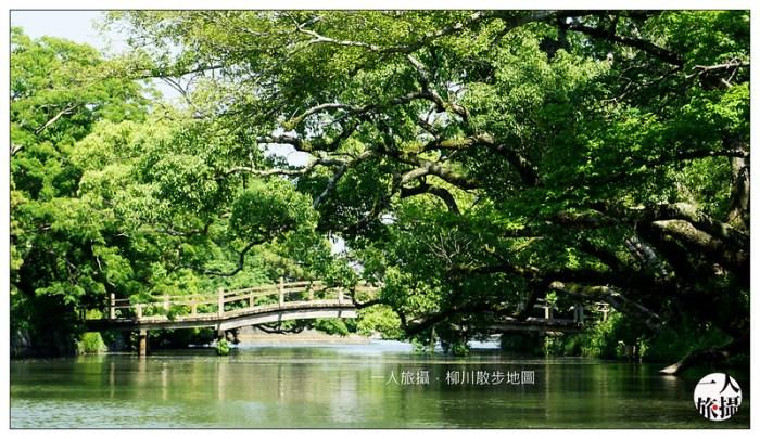 柳川散步地圖 20