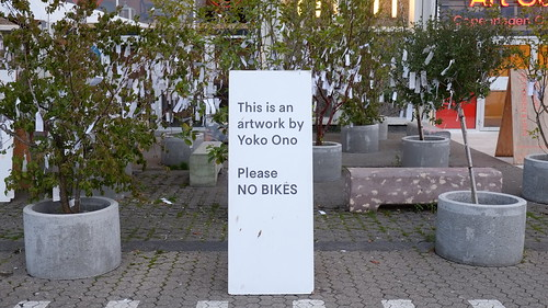 This is not bike parking this is art