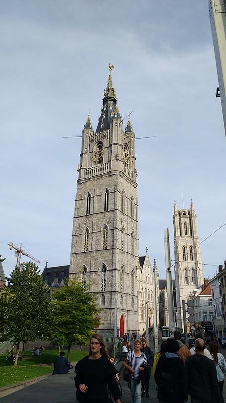Dos torres de Gante 10 razones para venir a gante de erasmus - 37391393636 74ce87d75c c - 10 Razones para venir a Gante de Erasmus