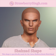 StrawberrySingh.com Shahzad Shape