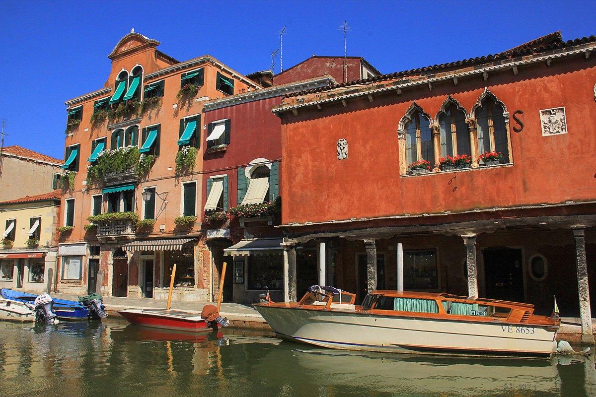 Murano is a beautiful island