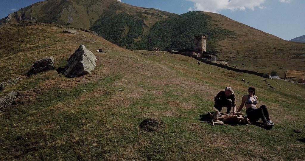 Ushguli: Flying over the highest inhabited village in Europe
