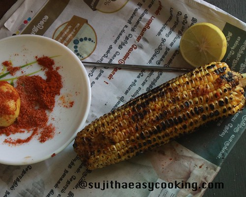 Sweetcorn with Lemon and chilli5