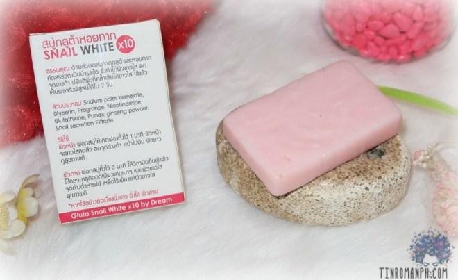 SNAIL WHITE 10x Whitening Soap_0709