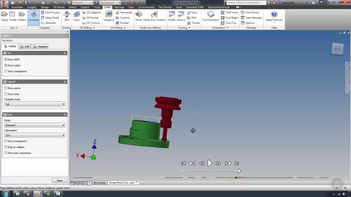 Học lập trình gia công CNC với HSM Inventor
