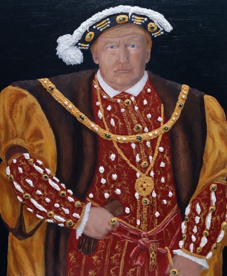 "Painting ""Contemporary King Henry VIII"""