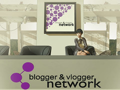 Live Discussion at Blogger & Vlogger Network in Second Life