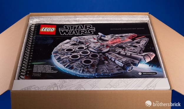 Hands On With The New Lego Star Wars 75192 Ucs Millennium Falcon