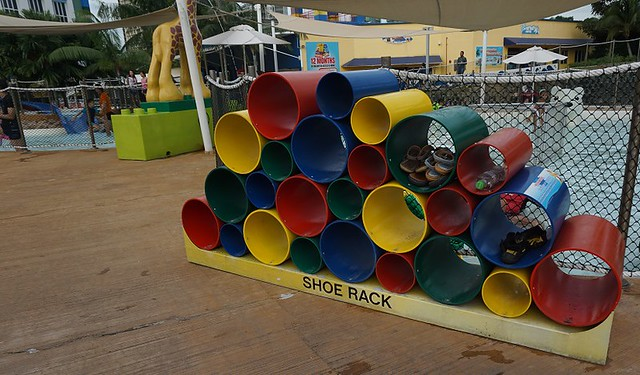 Legoland Waterpark Shoe Rack