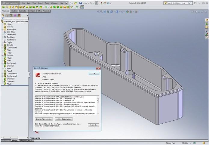 Thiết kế với phần mềm SolidWorks 2014 SP3.0
