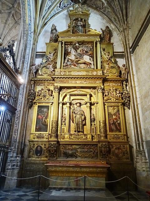 Segovia Capilla de Santiago Apóstol Catedral de Nuestra Señora de la Asunción y de San Frutos 01