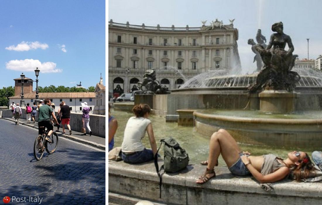 Verão em Roma