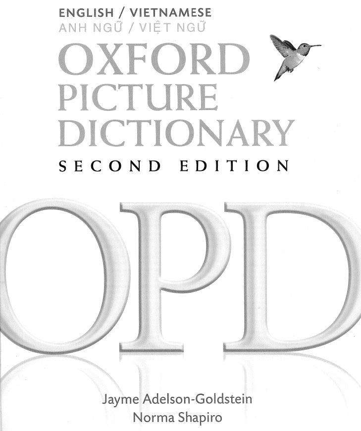 Tải Cuốn Từ điển Bằng Hình ảnh Oxford Song Ngữ Anh