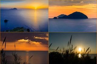 Sonnenuntergänge bei Pollara