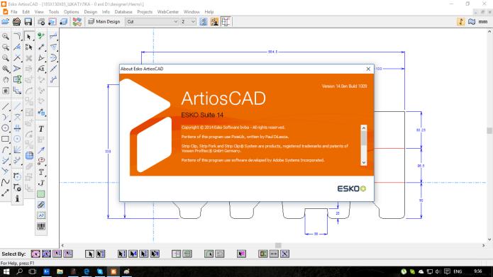 Design with ESKO ArtiosCAD 14.0 full license