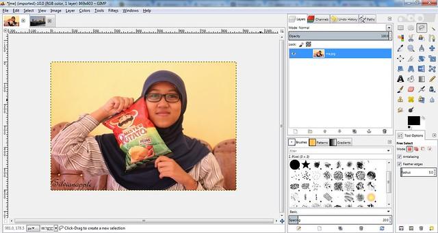 Ruang Kerja GIMP | Awita Life