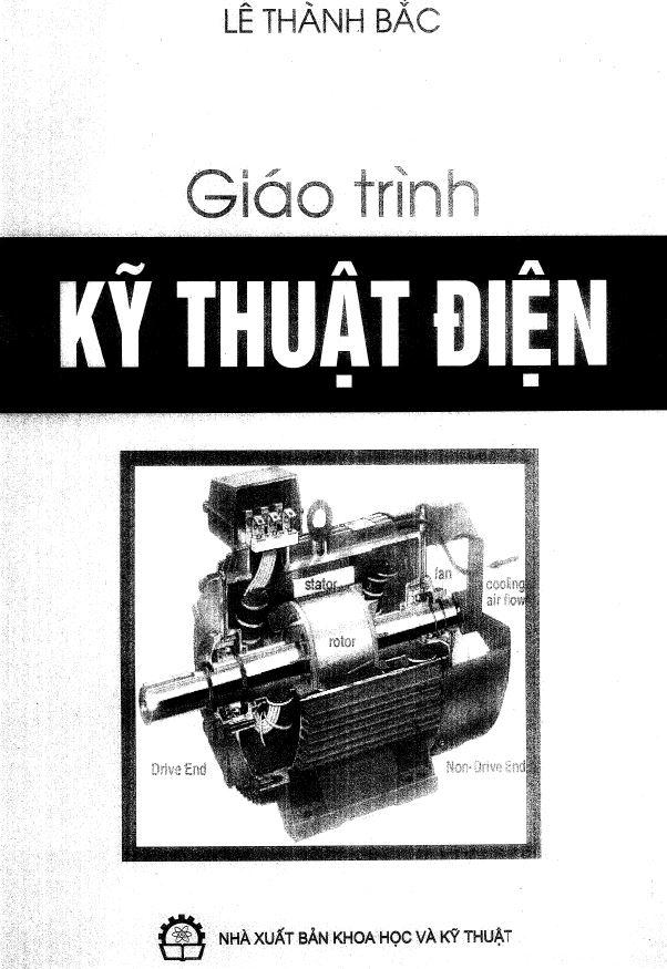 sách kỹ thuật điện - tác giả lê thành bắc - 2010