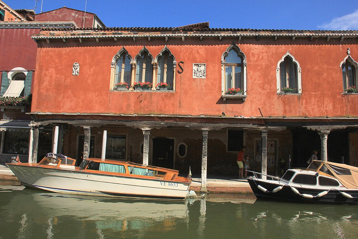 The canals of Murano