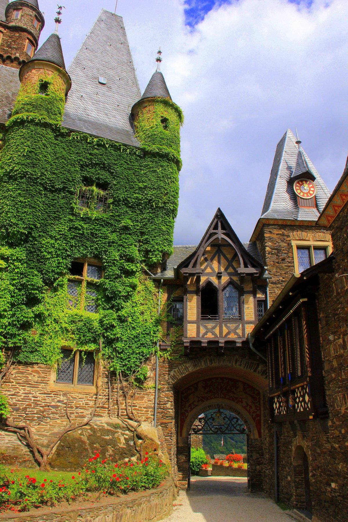 CChem Castle entrance
