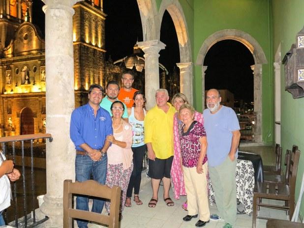 Cena en Campeche