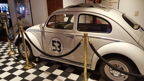 Herbie the Love Bug at the Celebrity