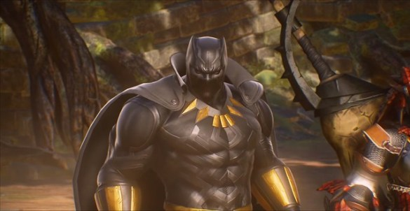 Marvel vs Capcom Infinite - Black Panther