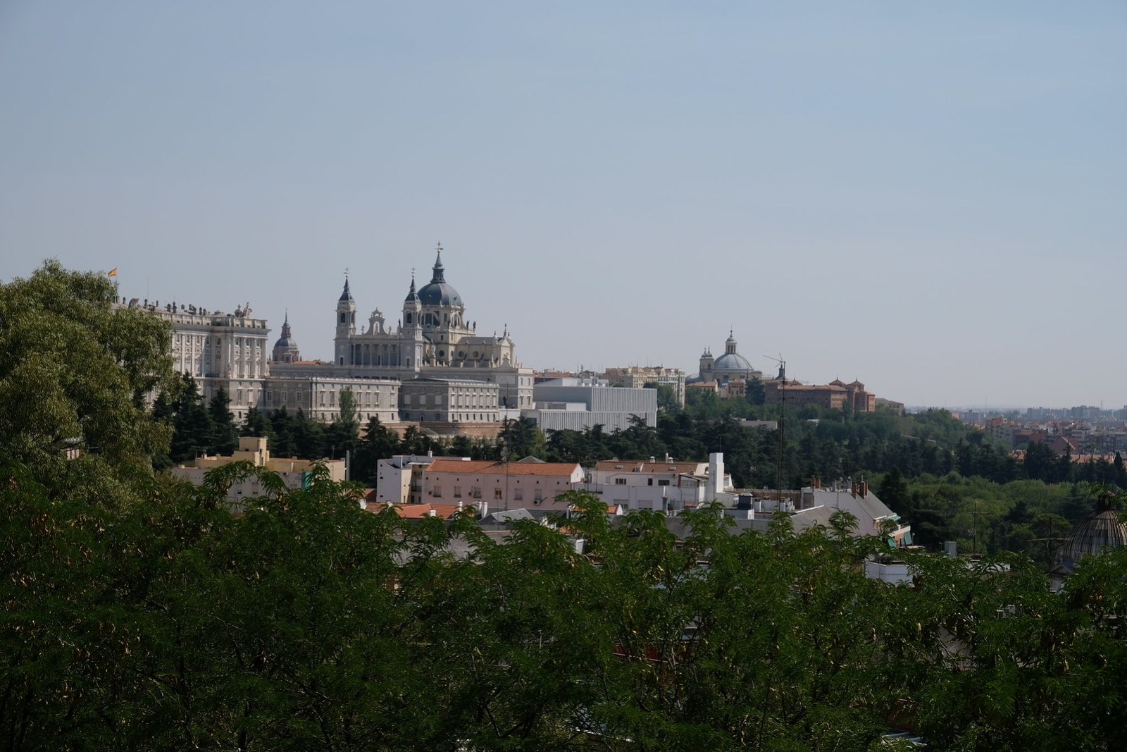 City View from Temple of Debod