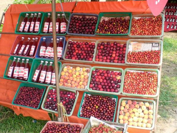 Puesto de fruta