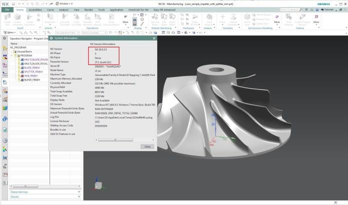 Thiết kế với phần mềm Siemens NX 10.0.3 full license