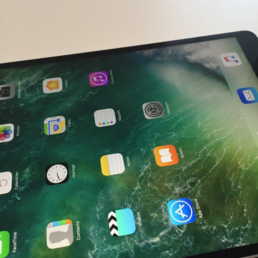 20170820 Première prise en main de l'iPad Pro 10,5'' 4