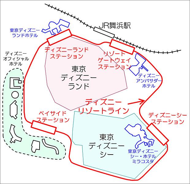 170915 ディズニーリゾート配置図