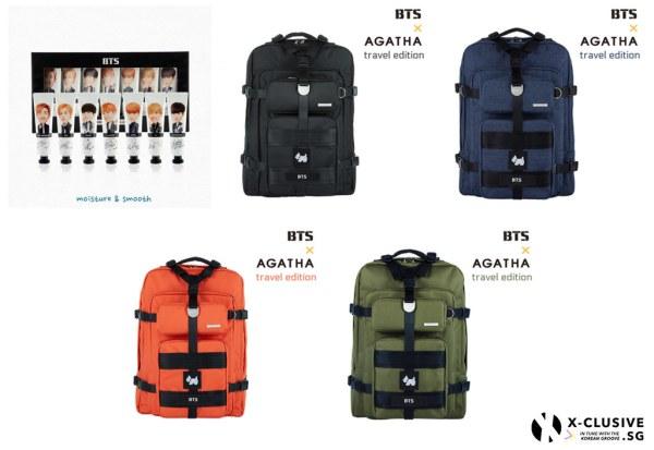 BTS x Agatha Merchandise