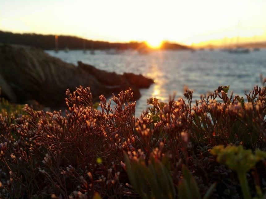 Coucher de soleil à la Pointe Prime