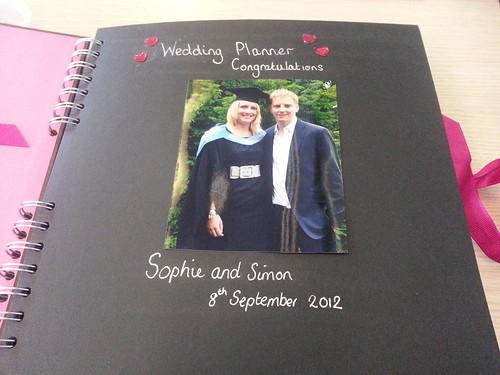 DIY wedding planner engagement gift
