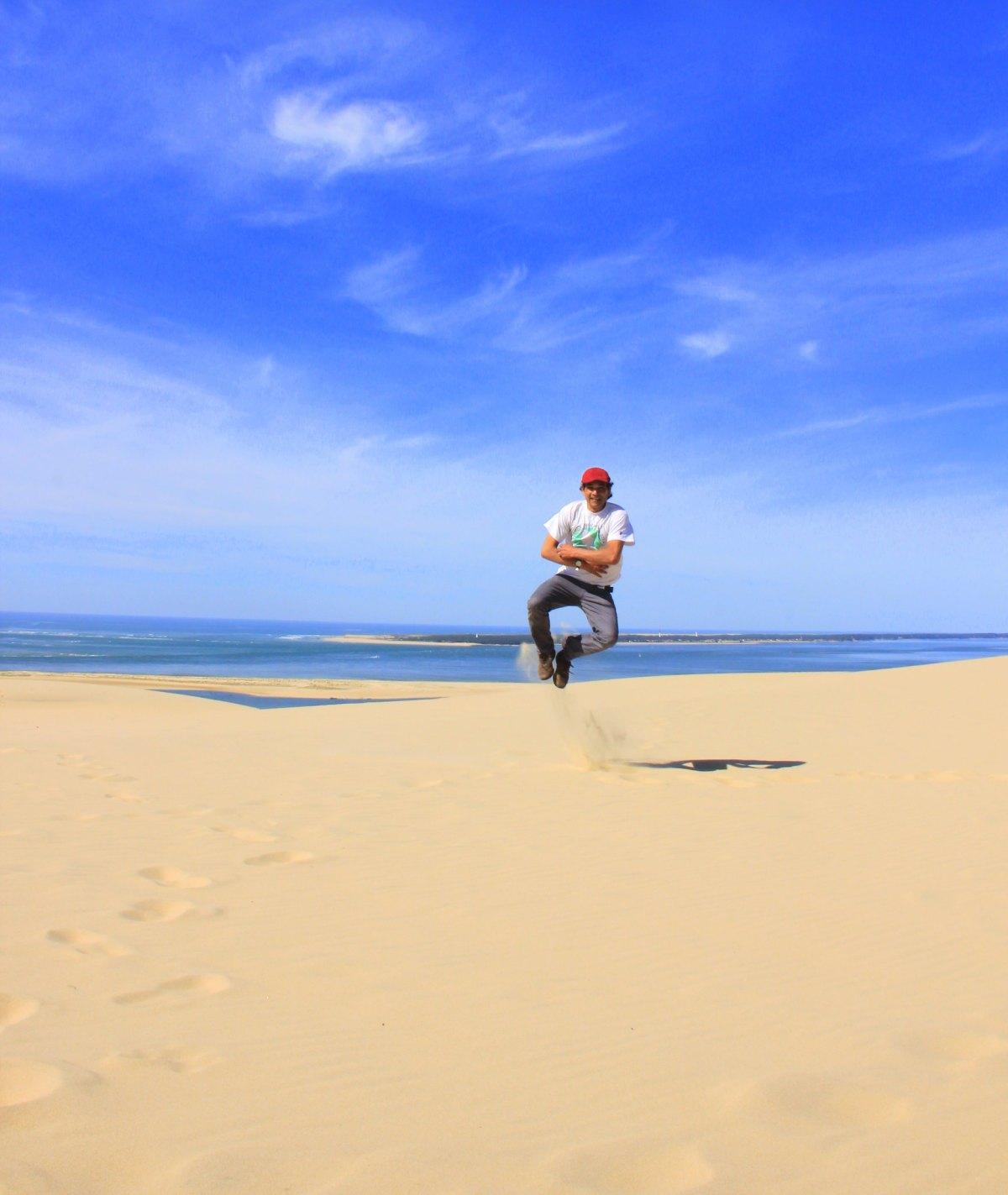 Shifting dunes of Dune de Pilat