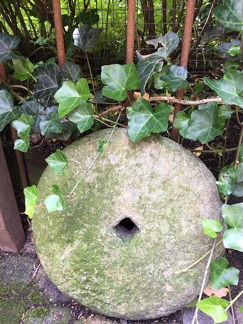 Molensteen landelijke tuin