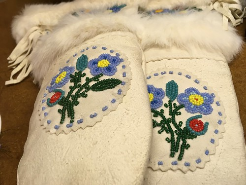 Beading and embroidery