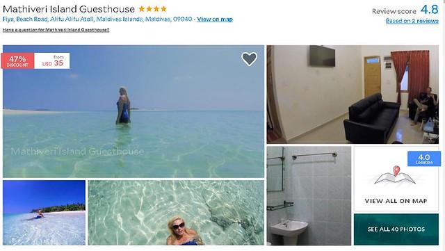Mathiveri Island Guest House - Maldives Cheap Accommodation