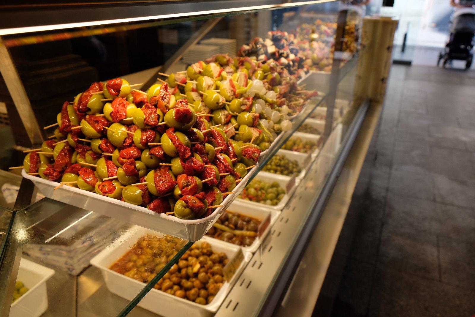 Olives at San Miguel Market