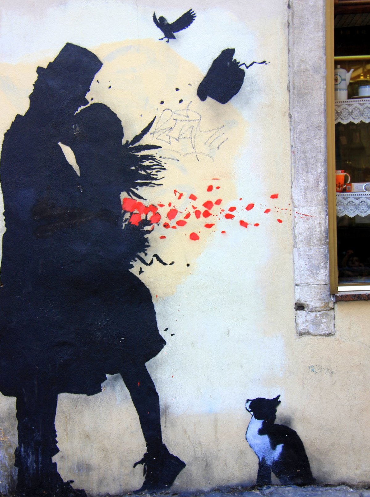 Street art in Padua is beautiful
