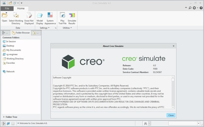 PTC Creo Simulate 4.0 64bit full crack